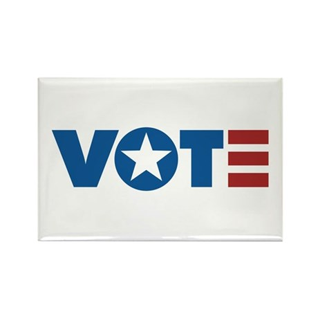 VOTE Rectangle Magnet (10 pack)