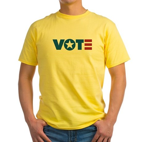 VOTE Yellow T-Shirt