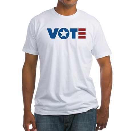 VOTE Fitted T-Shirt