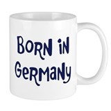 Born in Germany Mug