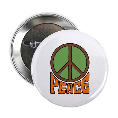 "Peace Sign 2.25"" Button (100 pack)"
