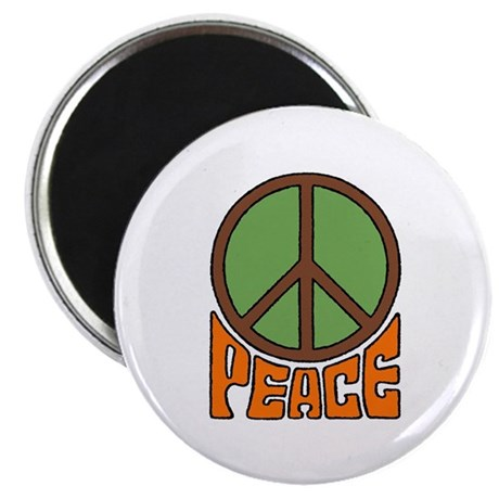 "Peace Sign 2.25"" Magnet (100 pack)"