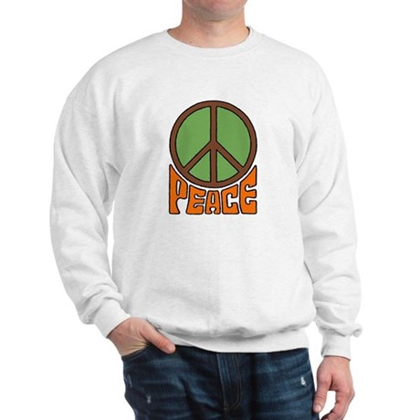 Peace Sign Men's Sweatshirt