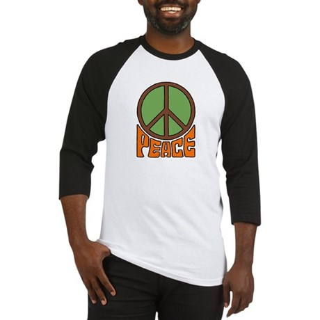 Peace Sign Men's Baseball Jersey