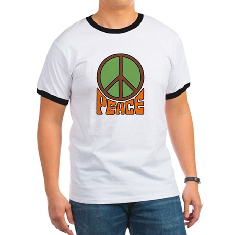 Peace Sign Ringer T