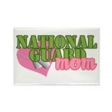 Unique National guard mom Rectangle Magnet