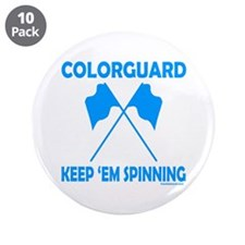 "COLORGUARD 3.5"" Button (10 pack)"