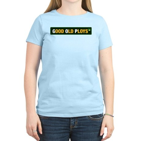 GOP - Good Old Ploys Womens Pink T-Shirt