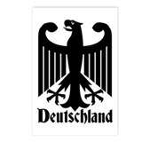 Deutschland - Germany National Symbol Postcards (P