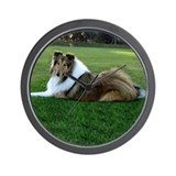 Collie Wall clock (Sable)