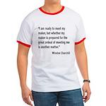 Churchill Maker Quote Ringer T