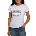 Churchill Maker Quote Women's T-Shirt