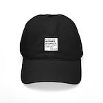 Churchill Maker Quote Black Cap