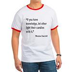Churchill Knowledge Quote Ringer T