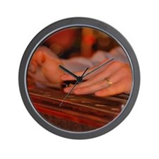 Cute Country musician Wall Clock