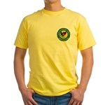 Masonic Afghanistan Yellow T-Shirt