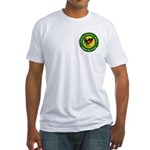 Masonic Afghanistan Fitted T-Shirt