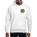 Masonic Afghanistan Hooded Sweatshirt
