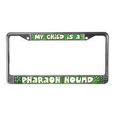 My Kid Pharaoh Hound License Plate Frame