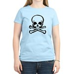 Skull and Crossbones Women's Light T-Shirt