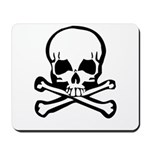 Skull and Crossbones Mousepad