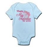 Miss Fisherman Onesie
