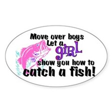 Move Over Boys - Fish Decal