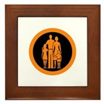 Protect and Survive Framed Tile