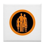 Protect and Survive Tile Coaster
