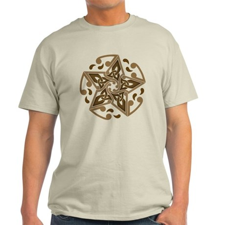 Celtic Star Light T-Shirt