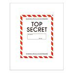 Top Secret Small Poster