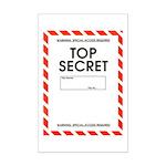 Top Secret Mini Poster Print