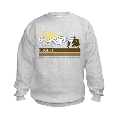 Forks Kids Sweatshirt