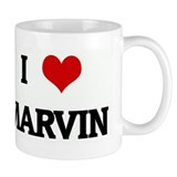 I Love MARVIN Small Mugs