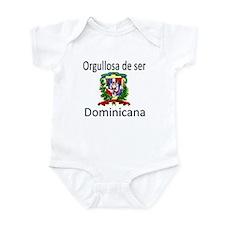 Orgullosa de ser Dominicana Infant Bodysuit