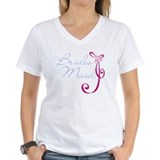 Wedding Ribbon Bridesmaid Shirt