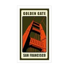 Golden Gate Rectangle Decal