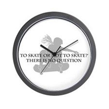 To Skate Or Not To Skate-Girl Sk8er Wall Clock