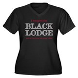 I Escaped The Dark Lodge... Women's Plus Size V-Ne
