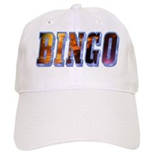Bingo Text Baseball Cap