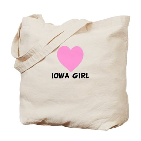 Iowa Girl Tote Bag