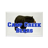 Camp Creek Bears Rectangle Magnet