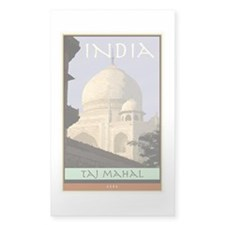 India Rectangle Decal