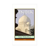 India Rectangle Sticker 10 pk)