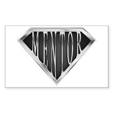 SuperMentor(metal) Rectangle Decal
