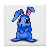 Sitting Rabbit Tile Coaster