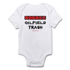 Badass Oilfield Trash Infant Bodysuit
