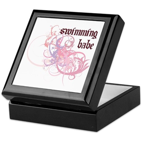 Swimming Babe Keepsake Box