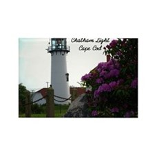 Chatham lighthouse Rectangle Magnet (100 pack)