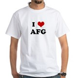 I Love AFG Shirt